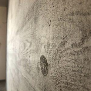 בטון אדריכלי בעובי 2 מילימטר לחיפוי קירות - אבן סיב