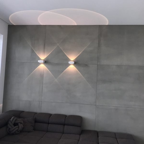 בטון אדריכלי בחיפוי קירות