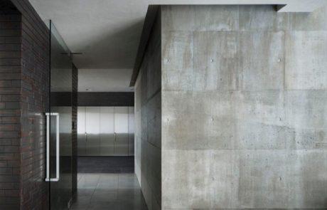 קיר בטון דקורטיבי
